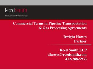 Long Term Firm Capacity Pipeline Transportation Agreement
