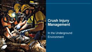 Crush Injury Management