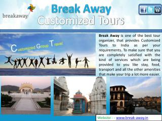 Customized Tours India