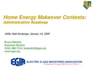 Home Energy Makeover Contests: Administrative Roadmap