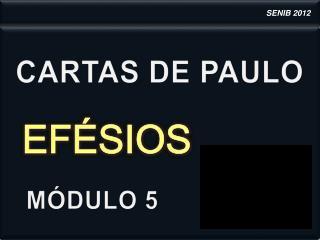 CARTAS DE PAULO