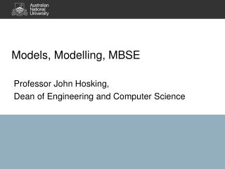 Models,  Modelling , MBSE