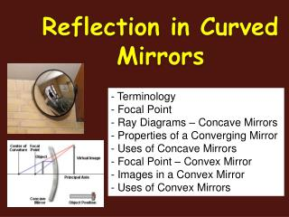 Reflection in Curved Mirrors