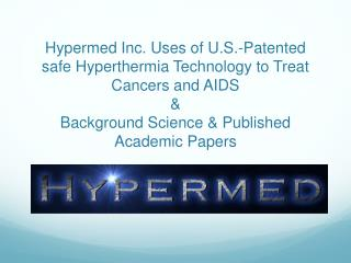 US National Cancer Institute Info on Hyperthermia in cancer treatment
