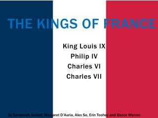 The Kings Of France