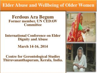 Elder Abuse and Wellbeing of Older Women