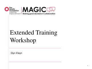 Extended Training Workshop