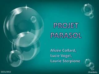 Projet Parasol