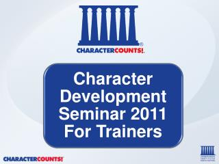 NOTE TO TRAINERS Major Features of CDS 2011 - PHILOSOPHICAL