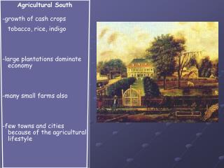 Agricultural South