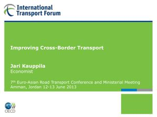 International Transport Forum at the OECD