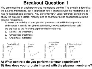 Breakout Question 1