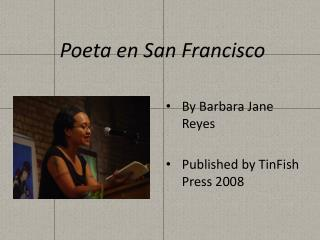 Poeta  en San Francisco