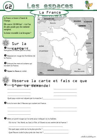 Les espaces français