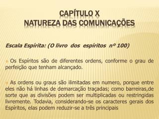 Capítulo x natureza das comunicações
