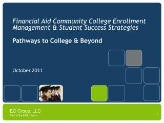 Financial Aid Community College Enrollment Management & Student Success Strategies