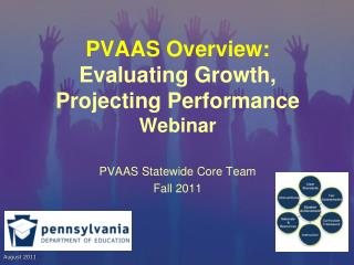 PVAAS Overview: Evaluating Growth, Projecting Performance Webinar