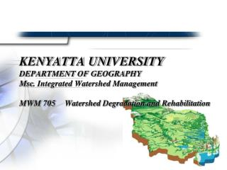 Evaluation Of The Role Of Government And Communities In Watershed Rehabilitation And Management
