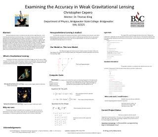 Examining the Accuracy in Weak Gravitational Lensing