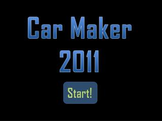 Car Maker 2011