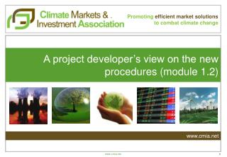 Promoting efficient  market solutions to  combat climate  change