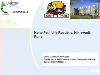 Kolte Patil Life Republic | 09999561111 | Kolte Patil Pune
