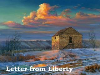 Letter from Liberty