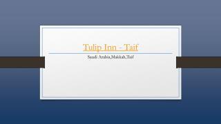 Tulip Inn - Al Taif - Holdinn.com