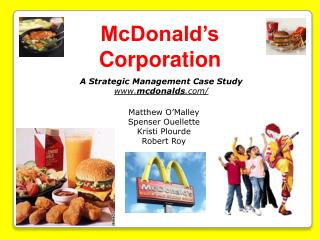 McDonald s Corporation