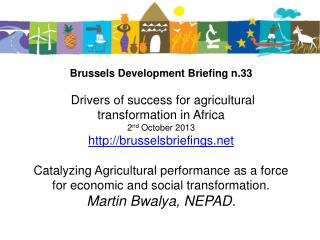 Brussels  Policy Briefing no. 33 Key drivers of success for agricultural transformation in Africa