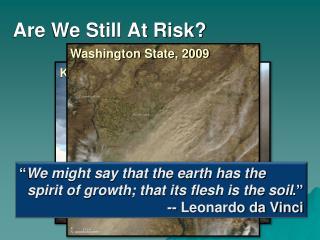 Are We Still At Risk?