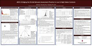 ARCH: Bridging the Divide Between Assessment Practice in Low  & High -Stakes Contexts