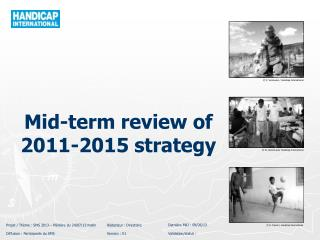 Mid - term review  of 2011-2015  strategy