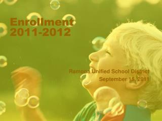 Enrollment 2011-2012