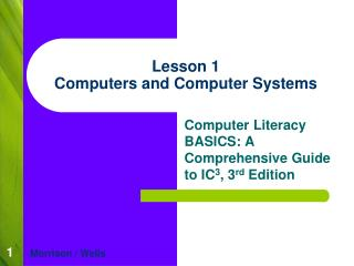 Lesson 1 Computers and Computer Systems