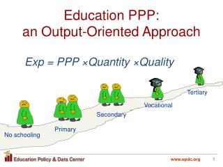 Education PPP:  an Output-Oriented Approach