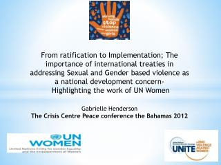 Sexual and Gender Based Violence in the Caribbean what does the research tell us?