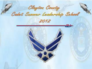 Clayton County  Cadet Summer Leadership School 2012