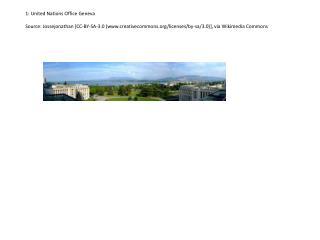 1: United Nations Office  Geneva