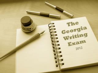 The Georgia Writing Exam