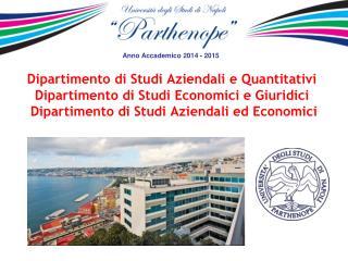 Anno Accademico  2014  -  2015