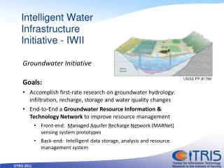 Intelligent Water Infrastructure Initiative - IWII