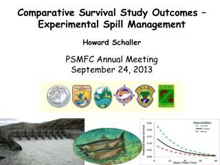 Howard Schaller PSMFC  Annual Meeting September 24, 2013