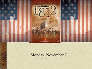 Monday, November 7