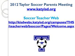 THS BOOSTER CLUB Please Join