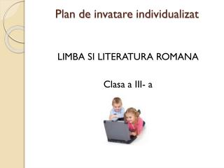 Plan de  invatare individualizat