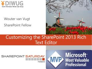 Customizing the SharePoint 2013 Rich Text Editor