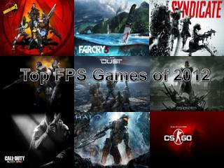 Top FPS Games of 2012