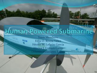 Human Powered Submarine