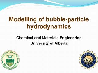Modelling of bubble-particle hydrodynamics